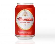 Cerveza Alhambra 0,33 lata
